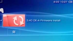 PSPカスタムファーム3.40 OE-A アップデータ