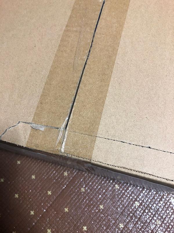 エルゴトロンLX 箱破損のコンディションの外箱
